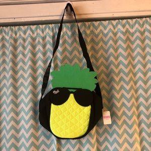 VS PINK pineapple cooler bag